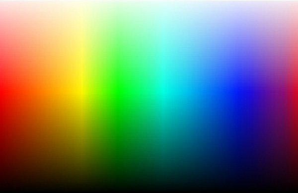 Color Spectrum Image